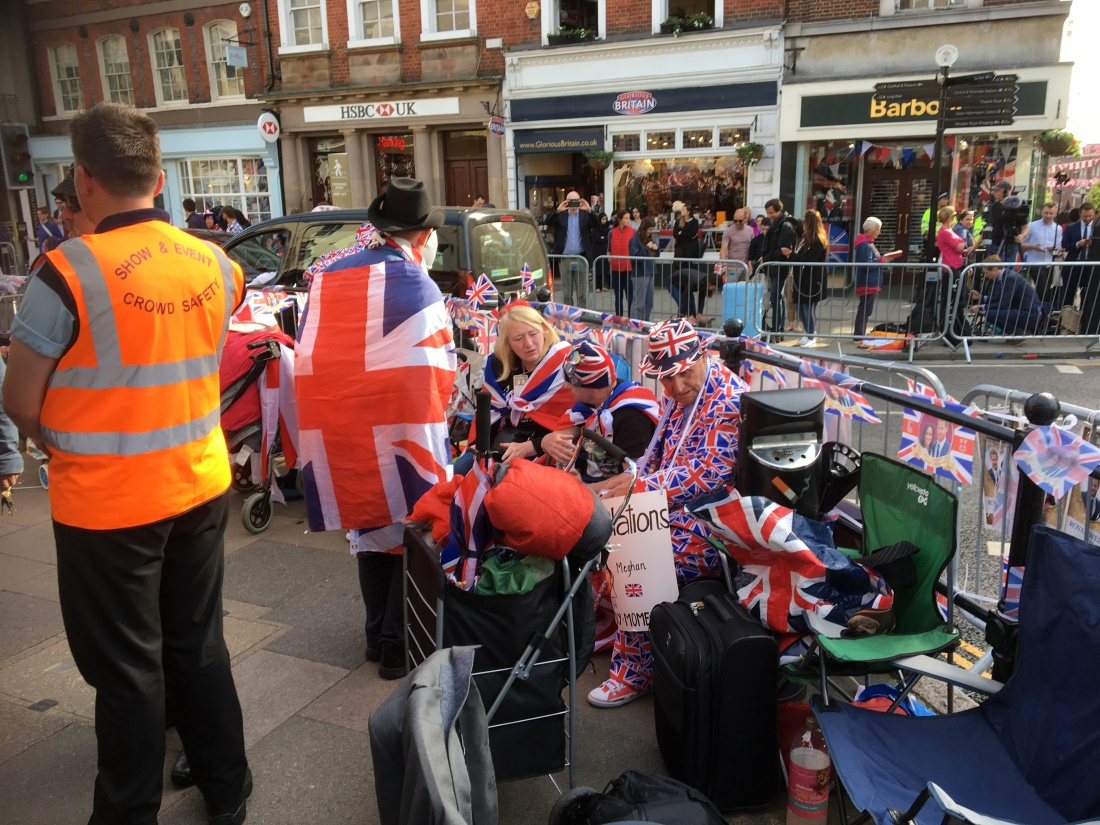 Royal Superfans, Windsor Castle, Prince Harry and Meghan Markle's Wedding.